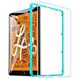 ESR iPad Mini5 2019 Mini4 ガラスフィルム 高度透明 3倍強化 旭硝子 9H スクラッチ防止 気泡防止 自動吸着 貼り付け枠付き iPad Mini5 Mini4通用 保護フィルム