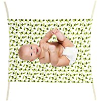 PandaTree ベビーハンモック ベビーベッド ベビー寝具 取り外し可 持ち運び便利 ベビー用品 乳児折りたたむ式 耐久性 調節可能 快適 通気性 安全 おもちゃ収納 (A)