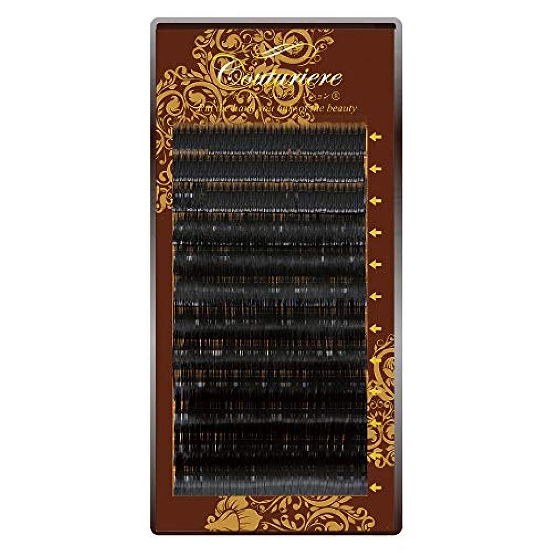 高潔な影響力のある増幅器クチュリエールエクステンションMIX下まつげ12列Sカール0.15mm