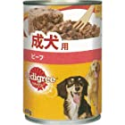 MARS P1 ペディグリー ウェット缶 成犬用 旨みビーフ 400g [P1]