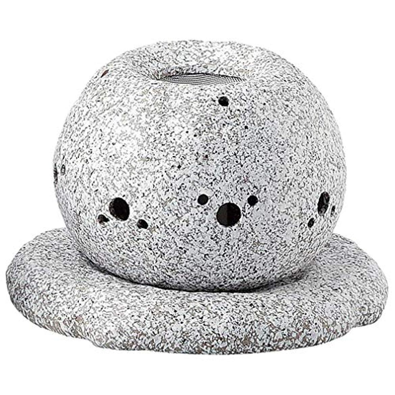 マカダム怪物ドラフトYI--Y-1628 常滑焼 電気式茶香炉 径14×高さ11.5cm