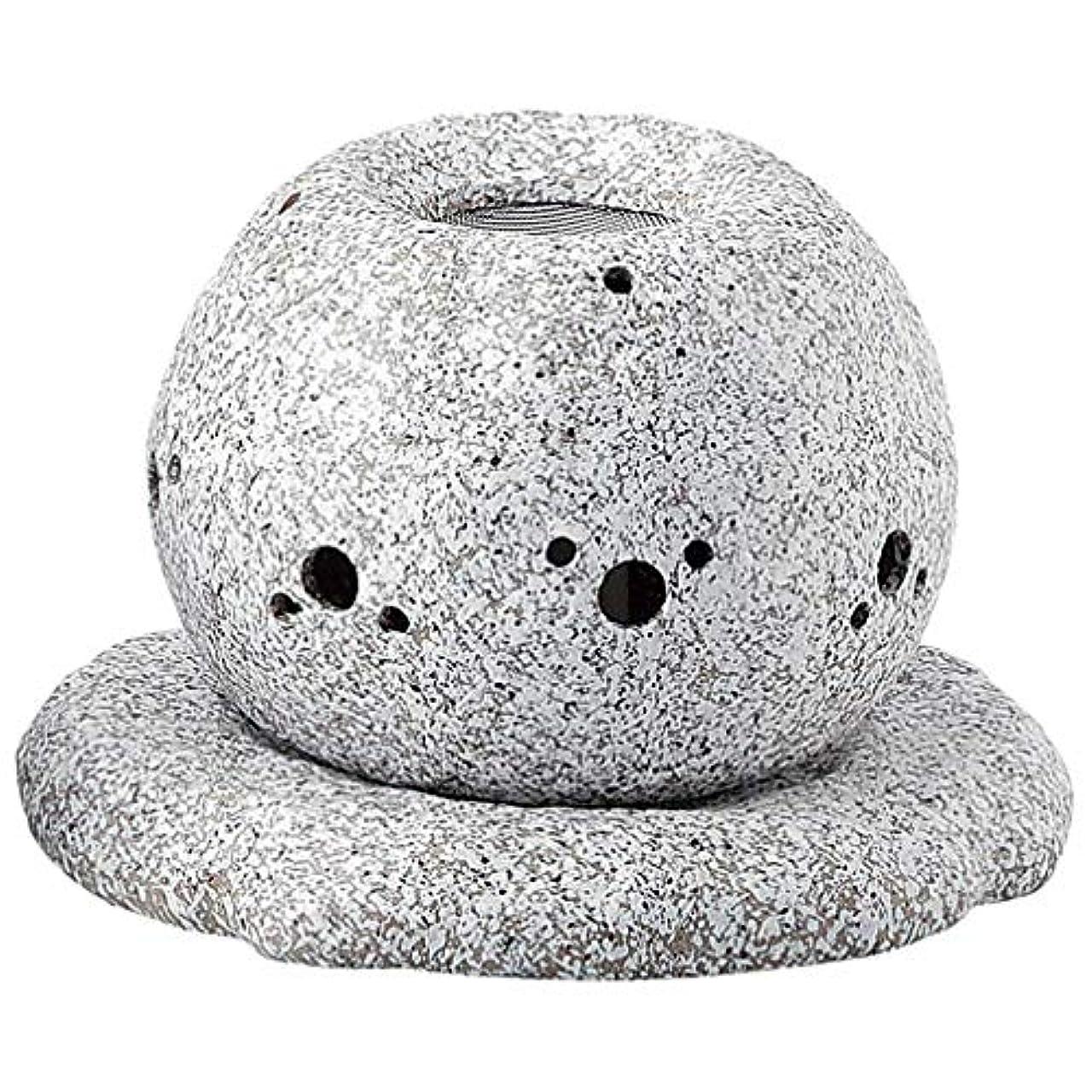プロフェッショナルくしゃみの配列YI--Y-1628 常滑焼 電気式茶香炉 径14×高さ11.5cm