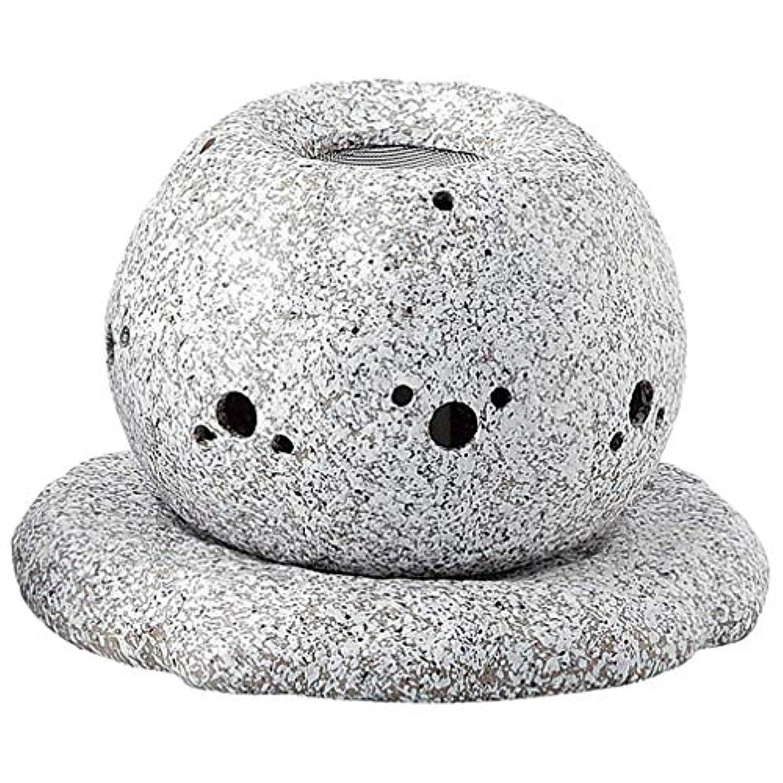 貞クラシックアンティークYI--Y-1628 常滑焼 電気式茶香炉 径14×高さ11.5cm