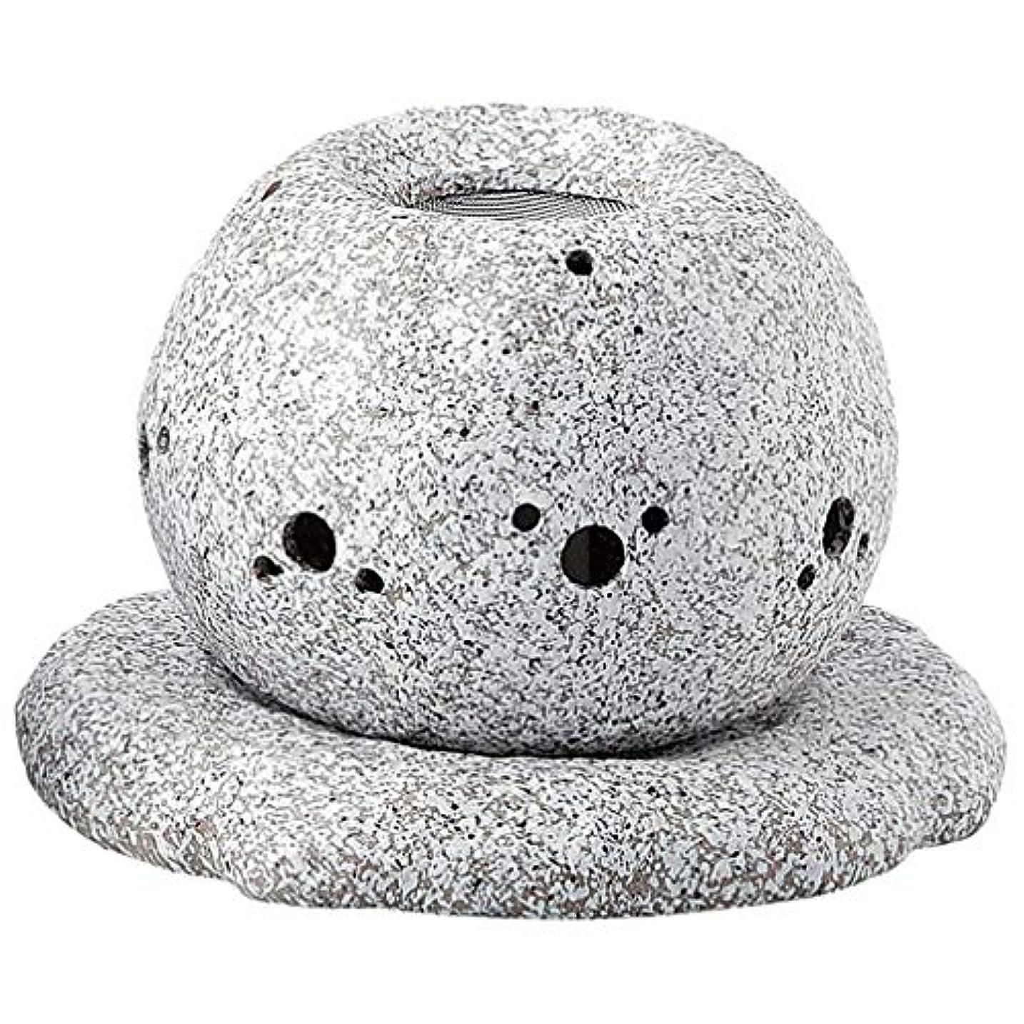 深い糞区別するYI--Y-1628 常滑焼 電気式茶香炉 径14×高さ11.5cm