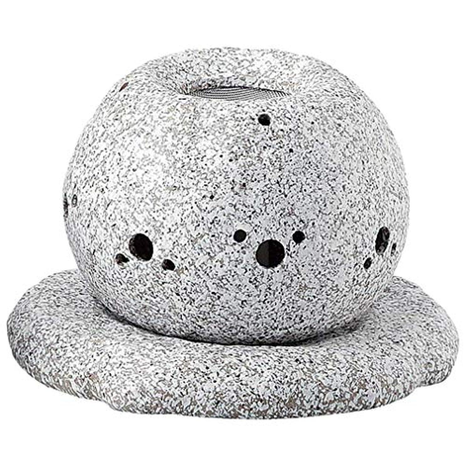 性差別無知ヒュームYI--Y-1628 常滑焼 電気式茶香炉 径14×高さ11.5cm