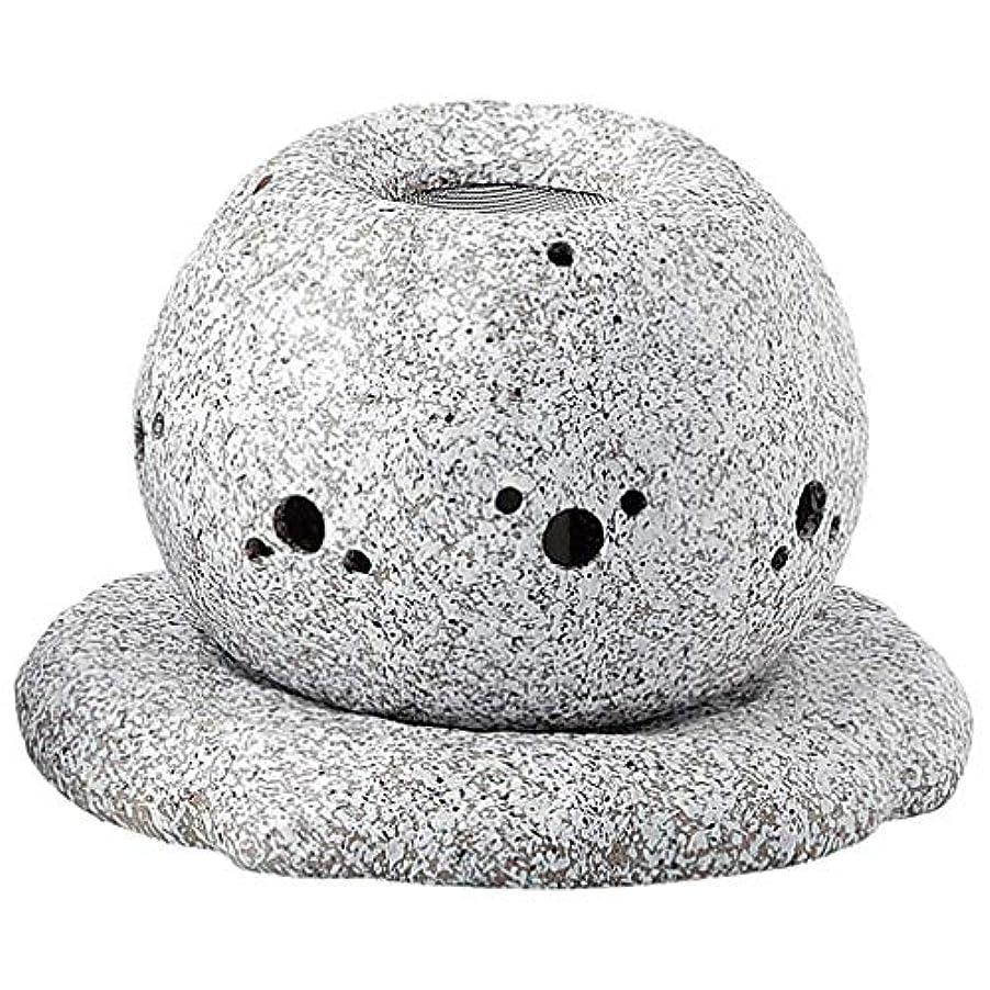 バブルバドミントン第二常滑焼 G1724 茶香炉  径14×11.5cm