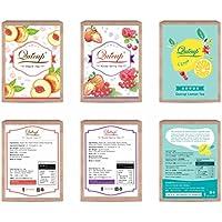 Nescafeドルチェグスト専用カプセル QUICUPフルーツティーシリーズ(Fruit Tea Series)[3種類 12杯分X6箱]