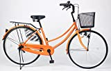21Technology 【MC260-N】ママチャリ 自転車 26インチ (オレンジ)