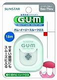GUM(ガム)・イージースルーフロス 18m