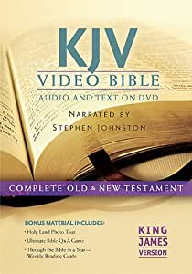 KJV Video Bible: Audio and Text on DVD: Complete Old & New Testament