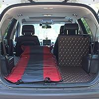 YJH+ アウトドアシングルダブルSUV自動インフレータブルマットレスカーベッドインフレータブルベッドカー車のベッドショックベッドインフレータブルクッション 美しく、寛大な ( 色 : 赤 , サイズ さいず : A )