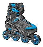 ROCES ロチェス インラインスケート JOKEY (Boy) ジュニア インラインスケート SPITFIRE INLINE SKATE サイズ調整可能 日本正規品 (BOY):