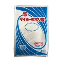 【ポリ袋】 中川製袋化工 タイヨーのポリ袋 0.05 No.12 3000枚