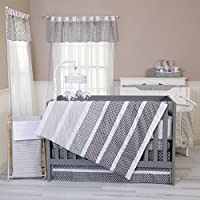 Trend Lab Ombre Gray 3 Piece Crib Bedding Set [並行輸入品]