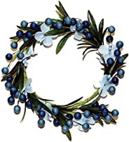 A Cheerful Giver Blue Berry Flower Candle Ring