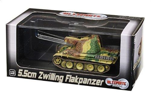 1:72 ドラゴンモデルズ アーマー コレクター シリーズ 60643 MAN 5.5cm Zwilling Flak装甲車 ディスプレイ モデル ドイツ軍 ウェストern フロント 1945【並行輸