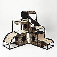 ペット用品 猫登山フレーム猫ジャンピングプラットフォーム高級多機能取り外し可能な組み合わせ猫用品ペット用品 (色 : 2)