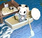 海外版シルバニアUKブチウサギ Rowing ボート