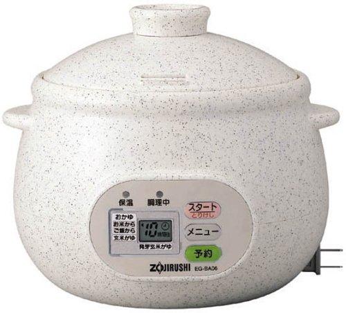 ZOJIRUSHI 粥茶屋 おかゆメーカー EG-BA06