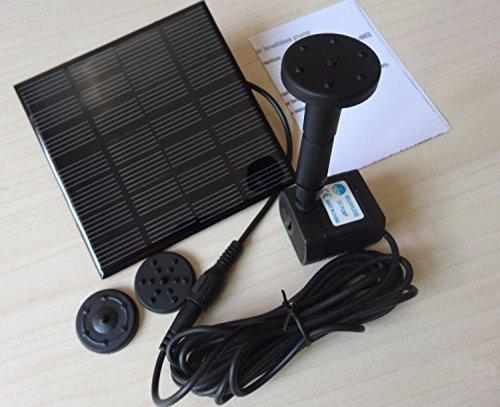 【Lifepower】 ソーラー パネル 発電 噴水 池でも...