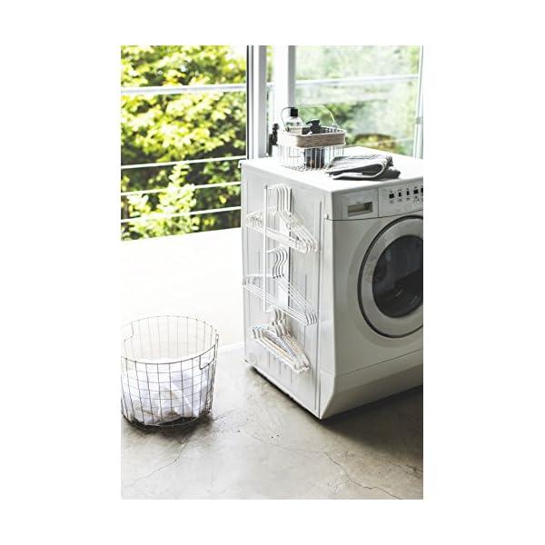 山崎実業 マグネット ハンガー収納 洗濯機横 ...の紹介画像2
