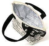 (ディズニー) Disney トートバッグ 保冷バッグ ファスナー付き 保冷 保温 ランチバッグ 6color Free 柄E