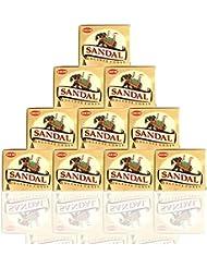 HEM Incense Cones: Sandalwood - 10 Packs of 10 = 100 Cones by Hem