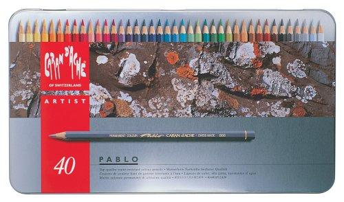 カランダッシュ パブロ色鉛筆 40色セット