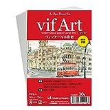 マルマン ポストカード 絵手紙用 ヴィフアール荒目 S142VC 5冊セット