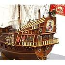 帆船模型キット サンマルコス (60分の帆船模型製作入門DVD及び和訳付き)