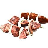 焼き鳥 串 内蔵串セット 室蘭やきとり やきとん 北海道産 豚舌5本×2 豚心5本×2  豚レバー5本×2 計30本