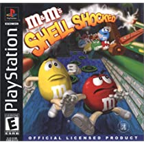 M&M'S SHELL-SHOCKED PSX: PLAYSTATION