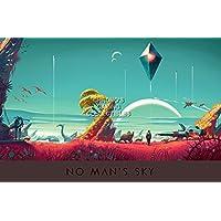 """CGC Hugeポスター–No man 's Sky ps4–ext381 24"""" x 36"""" (61cm x 91.5cm) B01FCWL41E"""