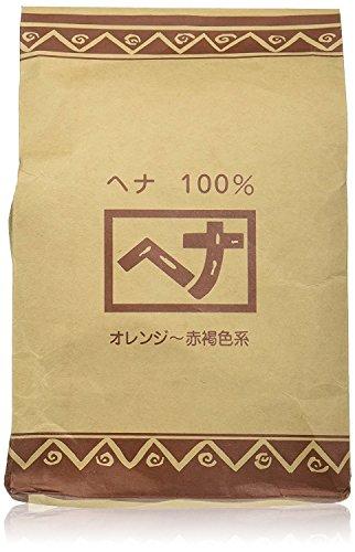 ナイアード ヘナ 100% 明るくナチュラルなオレンジから赤褐色系の色 100g×4袋