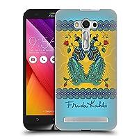 Official Frida Kahlo ペア ピーコック ハードバックケース Zenfone 2 Laser ZE550KL