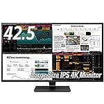 LG モニター ディスプレイ 43UD79-B 42.5インチ/4K/IPS非光沢/HDMI×4・DP・USB Type-C・RS-232C/スピーカー/ブルーライト低減