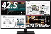 LGモニター ディスプレイ 43UD79-B 42.5インチ/4K/IPS非光沢/HDMI×4・DP・USB Type-C・RS-232C/スピーカー/ブルーライト低減