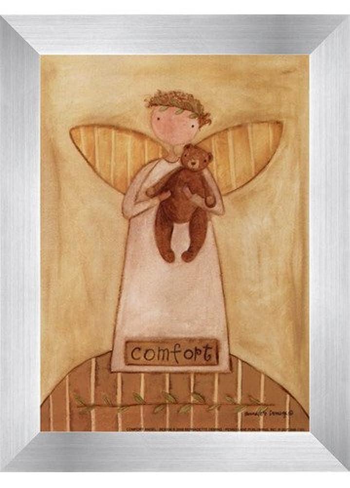 壊れた下向き機関車快適Angel by Bernadette Deming – 5 x 7インチ – アートプリントポスター LE_613850-F9935-5x7