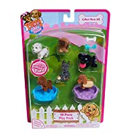 Just Play Puppy In My Pocket Set Figures (10 Pieces) [並行輸入品]