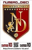NUMERO_DIECI クラシックエンブレム ステッカー (鹿島アントラーズ)