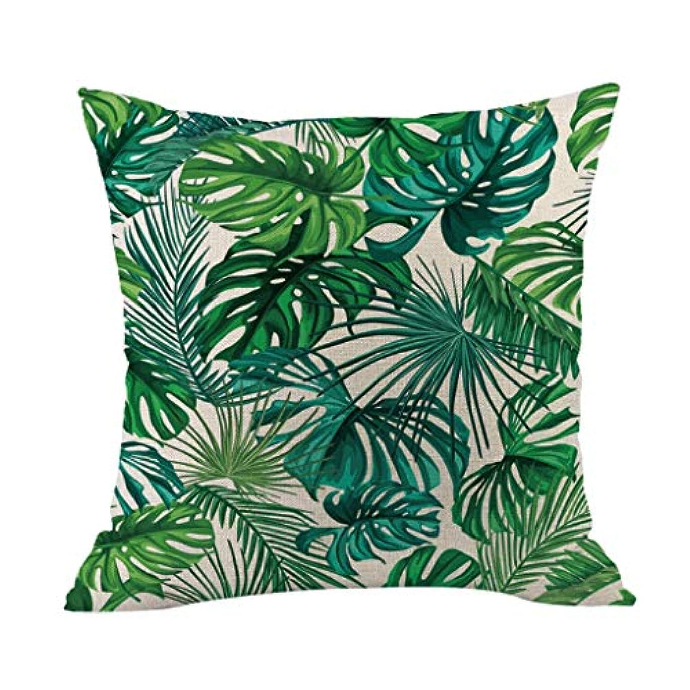 知らせるエンドウ違法LIFE 高品質クッション熱帯植物ポリエステル枕ソファ投げるパッドセットホーム人格クッション coussin decoratif クッション 椅子