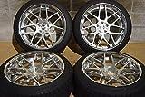 【中古】TWS Reizend WX07 245/40R20 フーガ V36 V37 鍛造 20in タイヤホイール【I0729B10YT3-K2P】