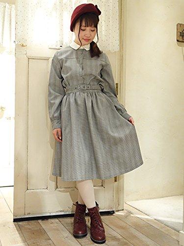 F i.n.t ベルト付きチェックギャザースカート[フィント公式][23AG03n005]