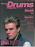 Rhythm & Drums magazine (リズム アンド ドラムマガジン) 1990年冬号リンゴ・スター ラリー・ミューレンJr 聖飢魔II 画像