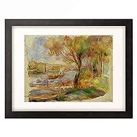 ピエール=オーギュスト・ルノワール Pierre-Auguste Renoir 「La Seine a Argenteuil」 額装アート作品