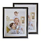 Best Giftgardenフォトフレーム - Giftgarden 8x10 with Mat Holds Wall Picture Frame Review