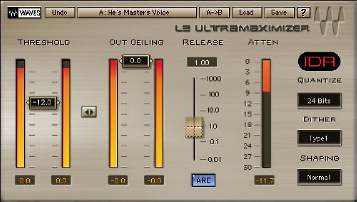 眠っているストッキング解釈的【並行輸入品】 WAVES 伝説 L2 Ultramaximizer Native版 ◆ノンパッケージ/ダウンロード形式