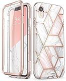 i-BLASON iPhone xr ケース 6.1インチ アイフォン液晶フレーム付き 女性向き 可愛い 防塵デザイン (2018 Release) ブランド品