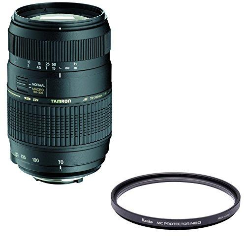 TAMRON 望遠ズームレンズ AF70-300mm F4-5.6 Di MACRO ニコン用 フルサイズ対応 A17NII + Kenko レンズフィルター MC プロテクター NEO 62mm レンズ保護用 726204 セット