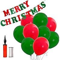SWEET PARTY【 MaryChristmas ガーランド + バルーン50個 】これだけで飾り付けはバッチリ!クリスマス パーティー に!